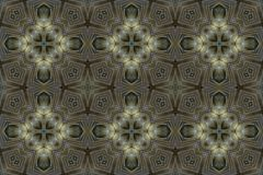 Seamless abstract vintage background colored mosaic symmetrical pattern.  Royalty Free Stock Photography