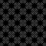 Seamless abstract vintage black pattern. Vector illustration Stock Photos