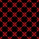 Seamless abstract vintage black pattern. Vector illustration Royalty Free Stock Images