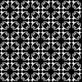 Seamless abstract vintage black white pattern. Vector illustration royalty free illustration