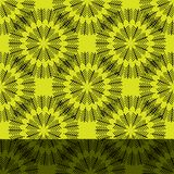 Seamless abstract vintage bright art yellow pattern. Seamless abstract vintage bright yellow pattern. Vector illustration vector illustration