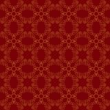 Seamless abstract vintage dark red pattern. Vector illustration Royalty Free Stock Images