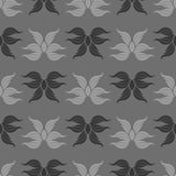 Seamless abstract vintage gray pattern. Vector illustration Royalty Free Stock Photo