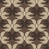 Seamless abstract vintage gray pattern. Vector illustration Royalty Free Stock Photos