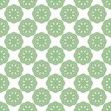 Seamless abstract vintage light green pattern. Vector illustration Stock Photo