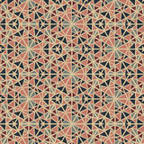 Seamless abstract vintage pattern Royalty Free Stock Images