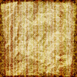 Seamless abstract wallpaper. On striped background,  crumpled burning paper texture Royalty Free Stock Image