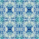 Seamless Abstract Watercolor Kaleidoscope Pattern. Offers and interesting design and texture vector illustration