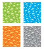 Seamless Abstract Waterdrops. You can use this repeating pattern to fill your own custom shapes and backgrounds Stock Photos
