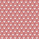 Seamless abstract wave hand-drawn pattern. Royalty Free Stock Photography