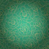 Seamless abstract waves background.Copy that square to the side Royalty Free Stock Images