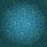 Seamless abstract waves background.Copy that square to the side Royalty Free Stock Photos