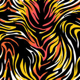 Seamless abstract wild exotic animal print.Leopard, zebra,gepard Royalty Free Stock Images