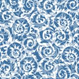 Seamless abstract winter pattern Stock Photography