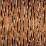 Seamless abstract wooden pattern Royalty Free Stock Photos