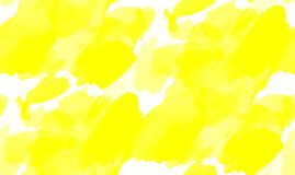 Seamless abstract yellow watercolor splash background. art by painted image. Seamless abstract yellow watercolor splash background stock photos