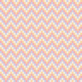 Seamless abstract zigzag pattern  - Illustration Royalty Free Stock Photography