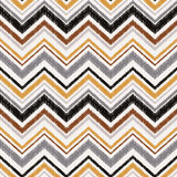 Seamless abstract zigzag wave pattern Stock Photo
