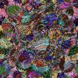 seamless abstrakt bakgrund Royaltyfri Bild
