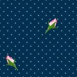 seamless abstrakt bakgrund Blommor Royaltyfria Bilder