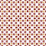 seamless abstrakt blom- modell modern stil för symmetri royaltyfri illustrationer