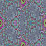 seamless abstrakt färgrik modell Arkivbild