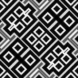 seamless abstrakt geometrisk modell Fotografering för Bildbyråer