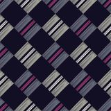 seamless abstrakt geometrisk modell Texturen av romben Manuellt kläcka Klottra textur vektor illustrationer