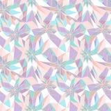 Seamless abstrakt geometriska mönstrar royaltyfri illustrationer