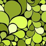 seamless abstrakt grön modell Royaltyfria Bilder