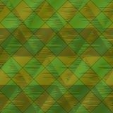 seamless abstrakt grön pläd Stock Illustrationer