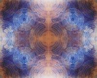 seamless abstrakt konstnärlig bakgrund Arkivfoton