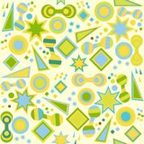 Seamless abstrakt ljus bakgrund Stock Illustrationer