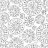 seamless abstrakt modell vektor illustrationer