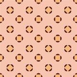 seamless abstrakt modell Brunt och rosa färger Arkivbilder