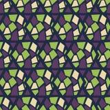 seamless abstrakt modell Uppsättning rhombus Arkivfoto