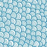 seamless abstrakt modell Utdragen skala för hand Grafisk prydnad abstrakt textur för bakgrundsreptilhud royaltyfri illustrationer