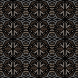Seamless abtract vector tribal pattern texture background Royalty Free Stock Photography
