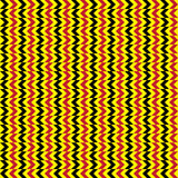 Seamless African Pattern. African pattern in red, yellow and black Royalty Free Stock Photo