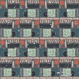 Seamless African pattern. Ethnic pattern on the carpet. Stock Images