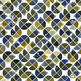 Seamless aged tiles abstract background, vector background with Stock Photos