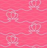 Seamless amorous texture. Royalty Free Stock Photo