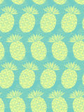 Seamless ananas mönstrar Arkivbilder