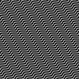 Seamless angular wavy pattern background design Royalty Free Stock Photo