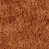Seamless Animal Fur Background Stock Image