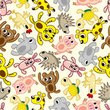 Seamless animal pattern Royalty Free Stock Image