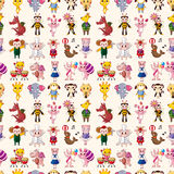 Seamless animal pattern Royalty Free Stock Photo