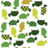Seamless animal pattern for kids. Turtles pattern Royalty Free Stock Photos