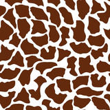 Seamless animal pattern for textile design. Seamless pattern of giraffe spots. Natural textures.r Stock Photos