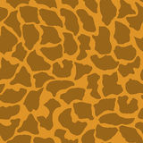 Seamless animal pattern for textile design and. Seamless pattern of giraffe spotsr Stock Photos